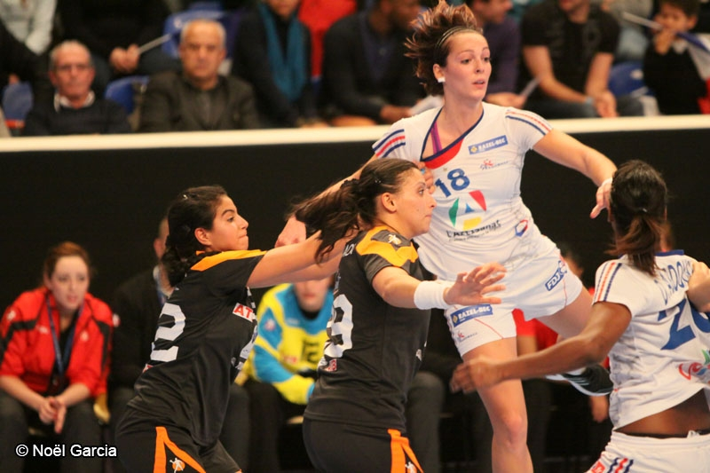 Handball - Equipe de France féminine de handball - Audrey Deroin