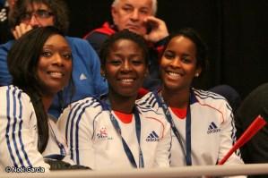 Handball - Equipe de France féminine de handball - Maire-Paule Gnabouyou, Armelle Attingré, Dounia Abdourahim
