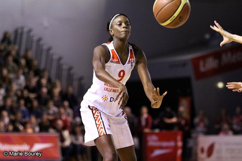 Basket - Villeneuve d'Ascq - Johanne Gomis
