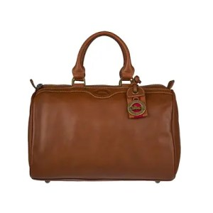Longchamp – Bauletto Vitello Morbido Au Sultan Cognac