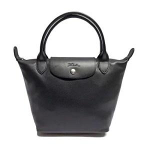 Longchamp – Borsa a Mano In Pelle Foulonne Nickel