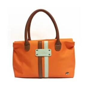 La Bagagerie – Borsa Shopping Tessuto Orange