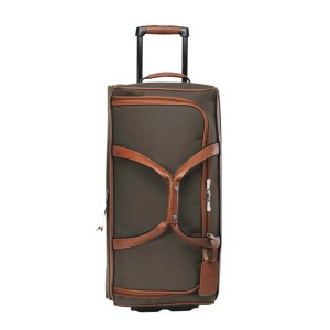 Longchamp – Borsa Viaggio Tessuto Md Boxford Brun