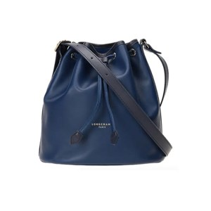 Longchamp – Secchiello Pelle C/Tracolla Long 2.0 Blue Notte