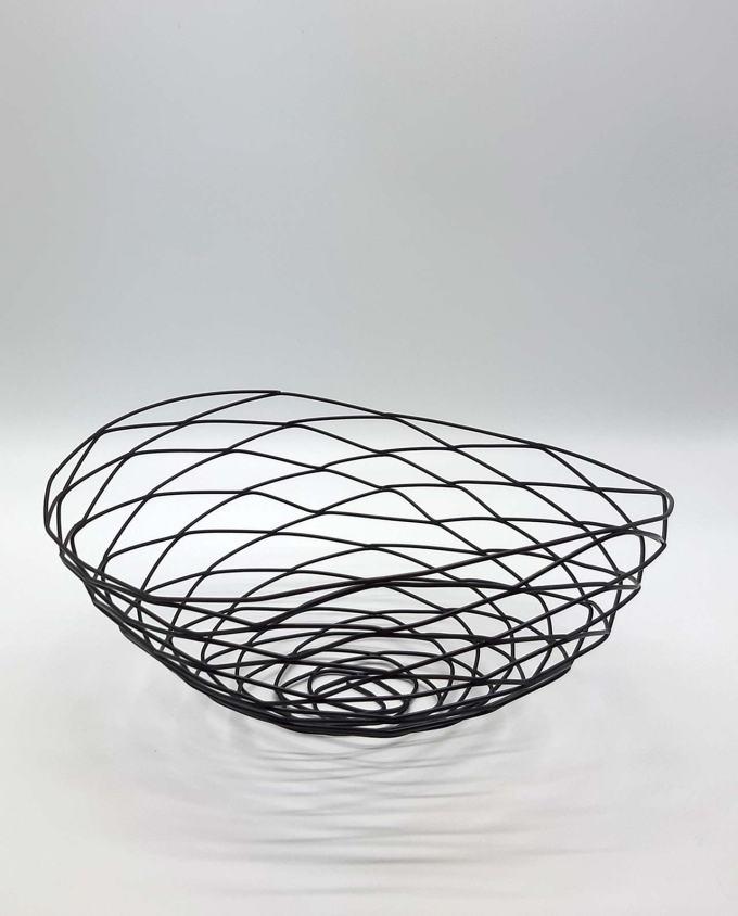"Bowl Metal ""Nest"" 37 x 32 cm"