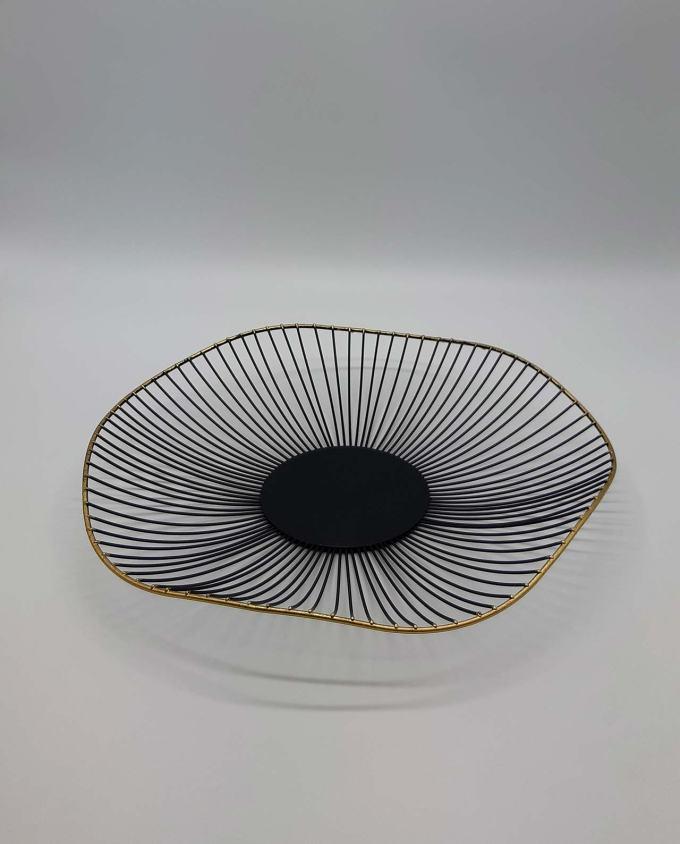 """Platter metal """"Bohemian"""" diameter 40 cm"""
