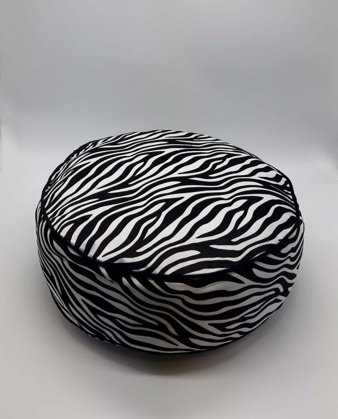 "Seat Cushion ""Zebra"" diameter 45 cm"