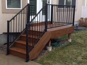 Iron Railing Cfc Fences Decks | Trex Enhance Stair Railing | Composite Decking | Trex Transcend | Lighting | Installation Instructions | Vintage Lantern