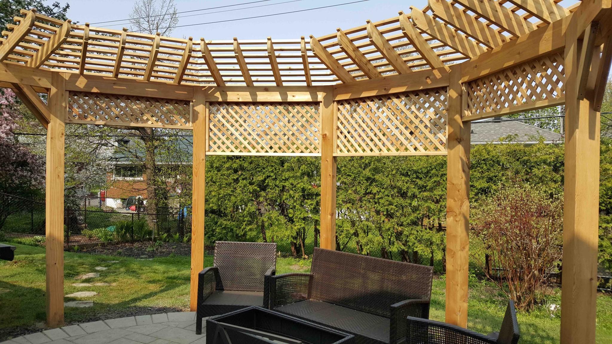 Pergola Wood Fence Masters