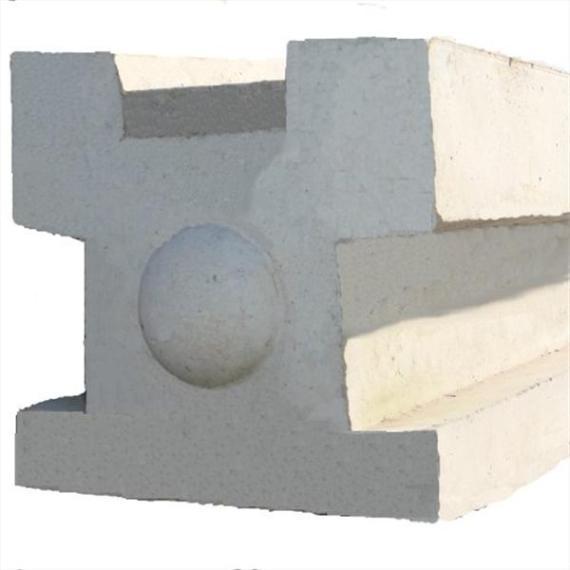 Concrete 3-Way Post - 5'9