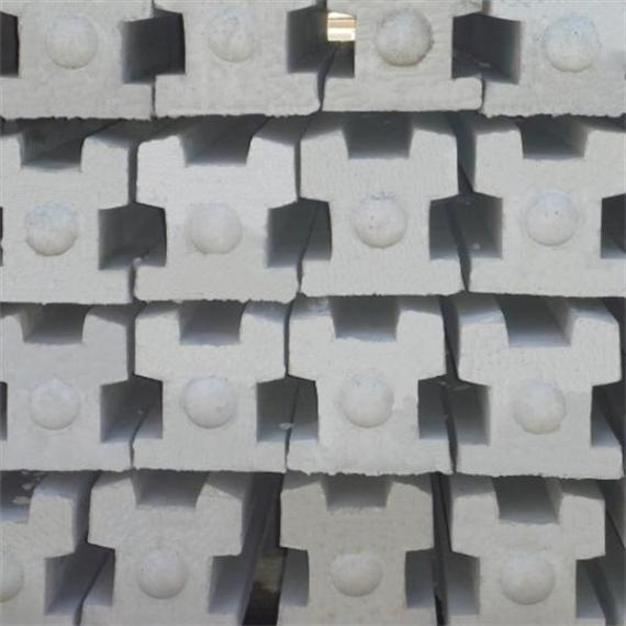 Concrete 3-Way Post - 9'