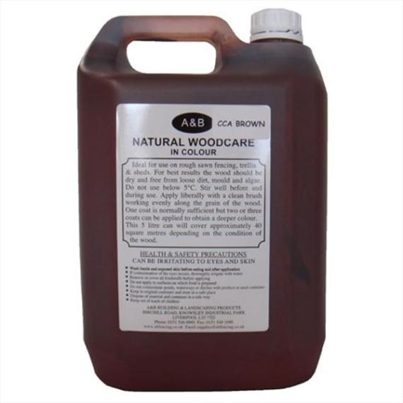 Economy Brown Wood Treatment - 5ltr