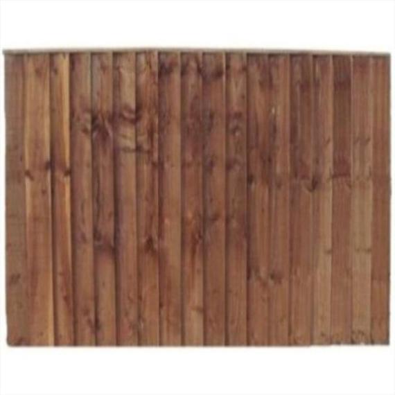 Feather Edge Fence Panel - 6'x6'