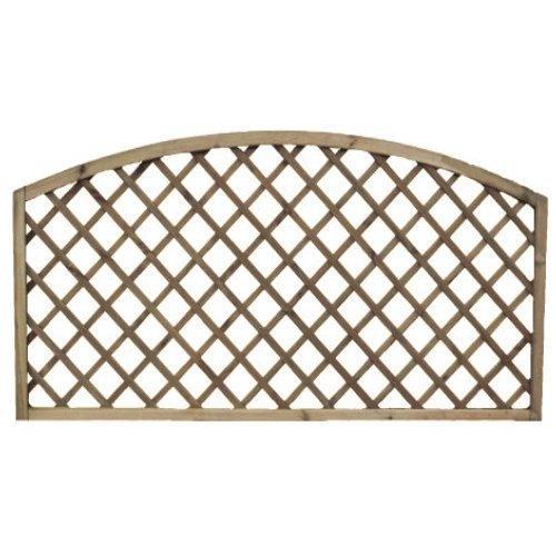 Lincoln Arch Fence Panel - 6'x3'
