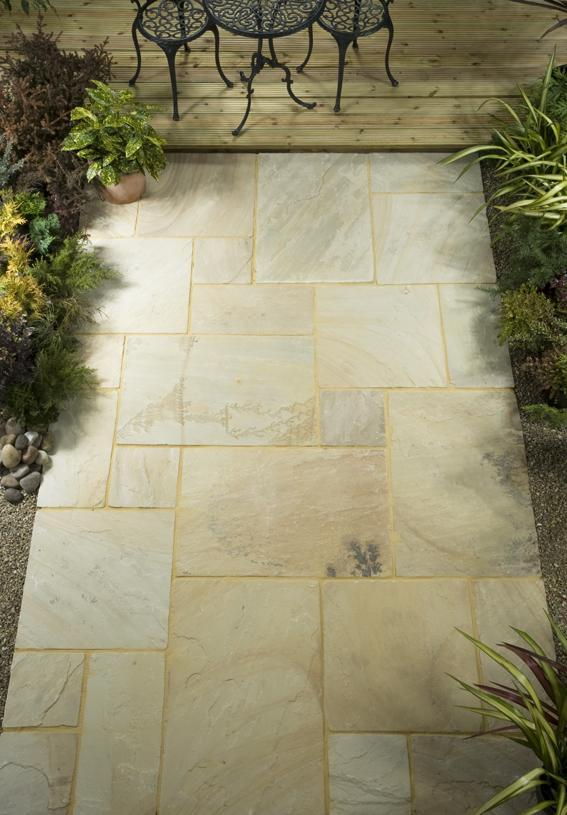 Natural Stone Paving - Mint