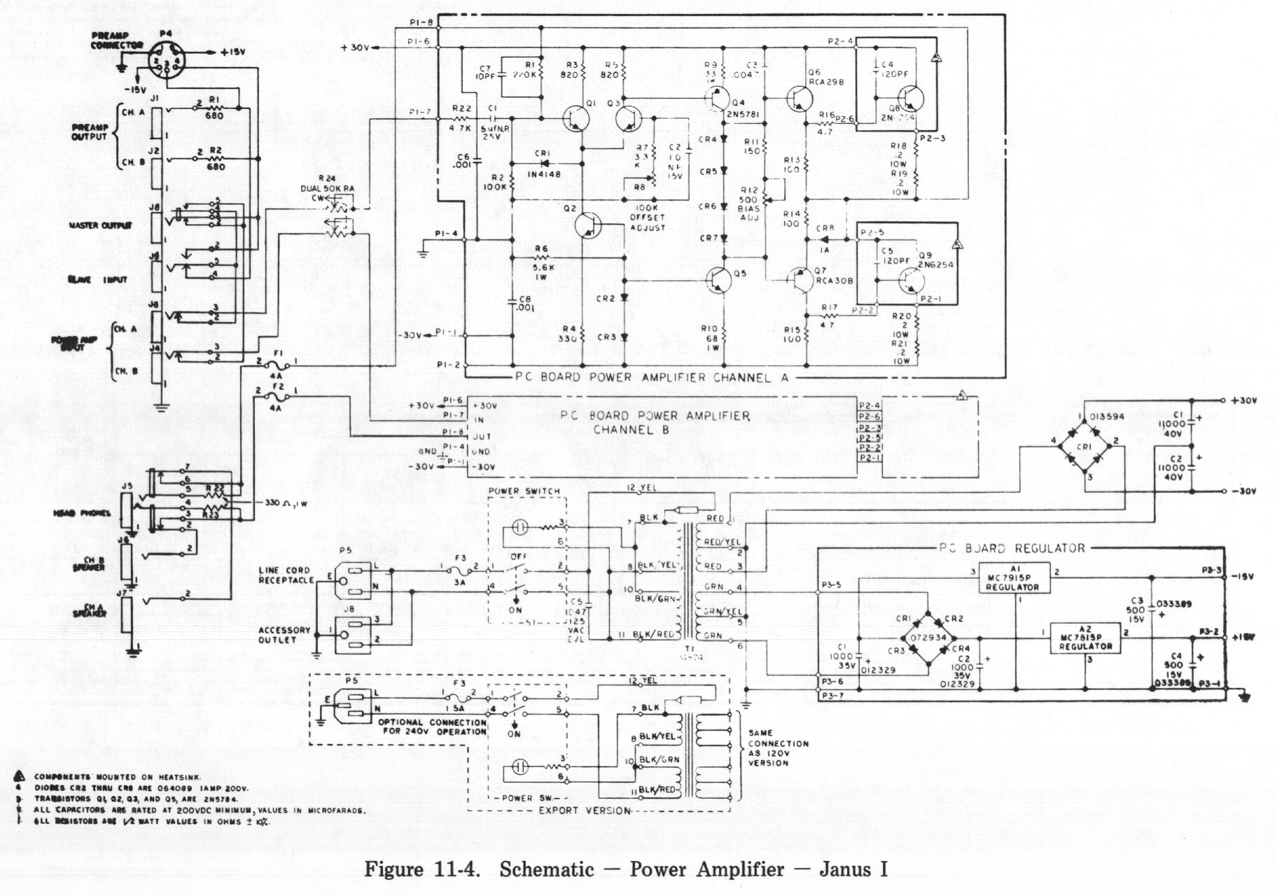 Schematic Power Amplifier