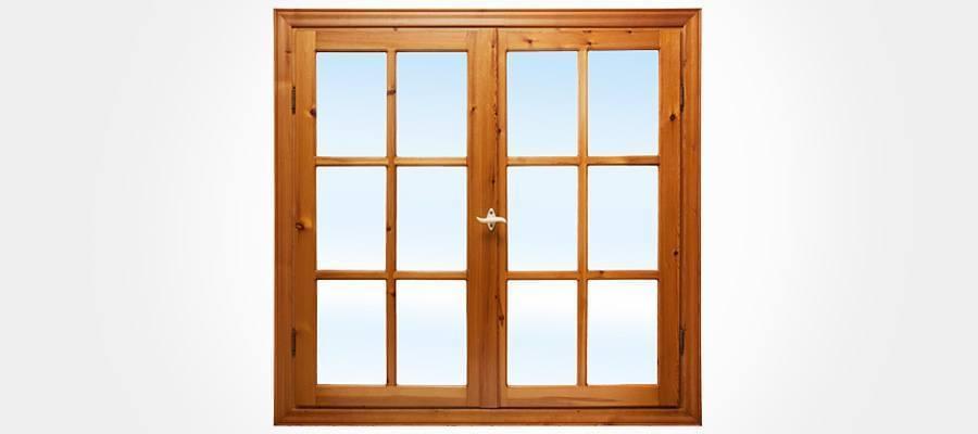 fenetre bois double vitrage isolation