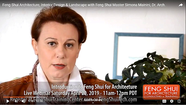 Feng Shui For Architecture Interior Design Landscape