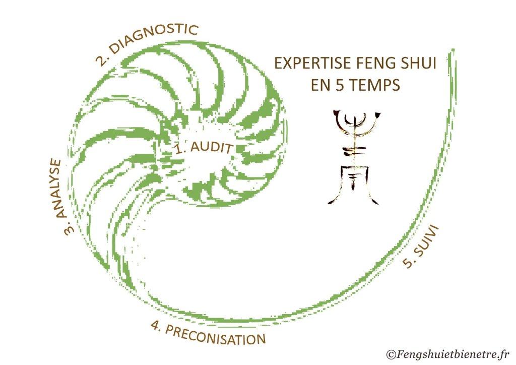 Expertise Feng Shui en 5 étapes