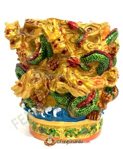 Feng Shui 9 Dragons Pen Stand