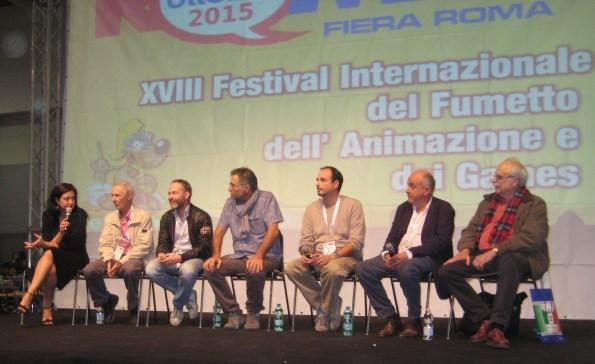 Sabrina Perucca, Bruno e Andrea Bozzetto, Maurizio Forestieri, Luca De Crescenzo, Franco Serra e Michel Fuzellier