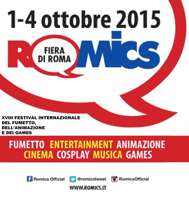 FENIX STUDIOS al ROMICS 2015!