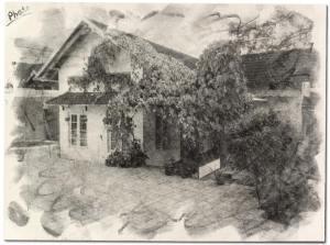 A rendering of Fenn Hall