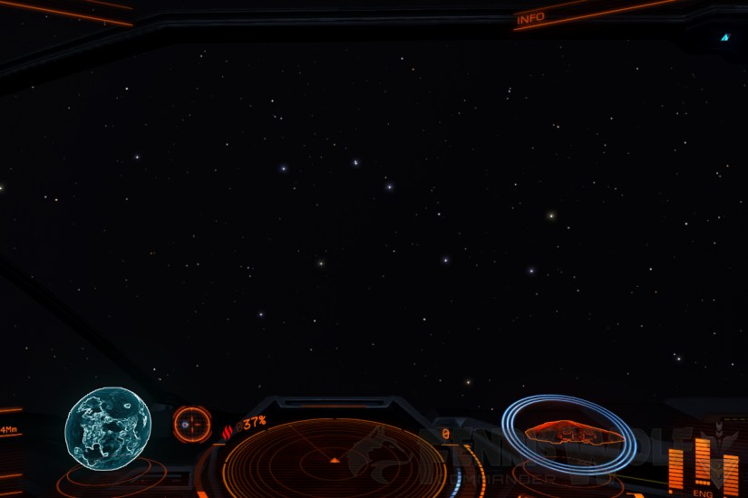 The Plough, visible from Earth in Elite: Dangerous