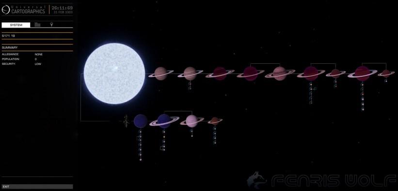 S171 19 - Black Hole = 1