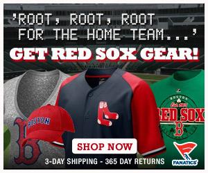 Shop Fanatics.com for Red Sox gear