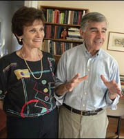 Former Governor and First Lady of Massachusetts - Michael and Kitty Dukakis
