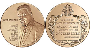 Jackie Robinson Congressional Gold Medal