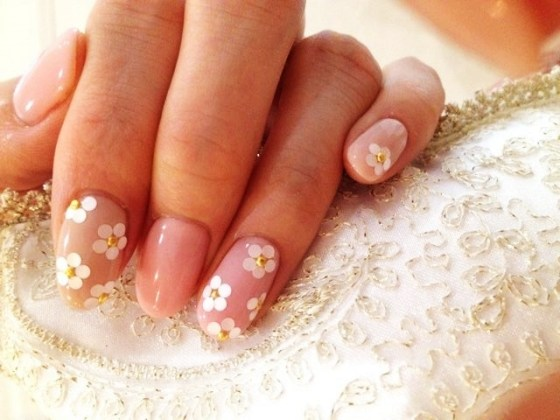 Simple Flower Nail Art Images Path Decorations Pictures Full