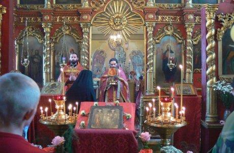 Престольный праздник в честь святых Космы и Дамиана в Риме пострадавших