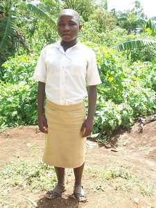 NJOM CINTIA: needs to be supported in school so that she can become an ACCOUNTANT.