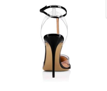 The Feargo PVC Patchwork Heel 7