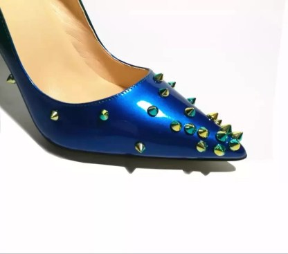 The Ferago Alien Studded Pumps 2