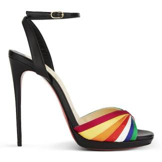 The Ferago Ankle Strap Peep Toes 4