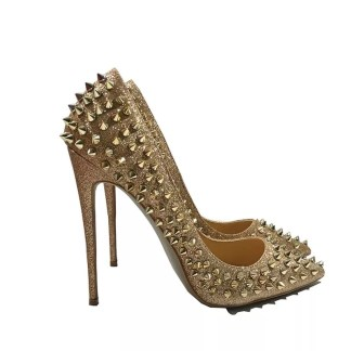 The Ferago Glitter Spike Pumps 4
