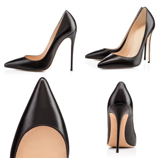 The Ferago Kanika Matte Leather Pumps 2