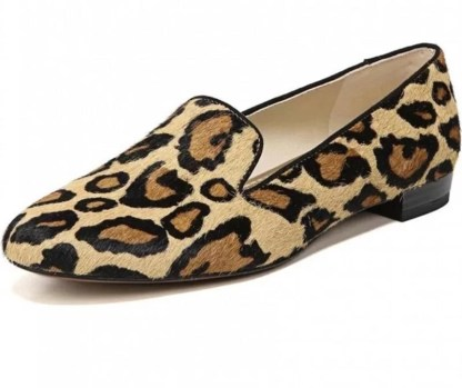 The Ferago Leopard Print Loafers 1