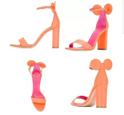 The Ferago Mickey Sandals Block Heels3