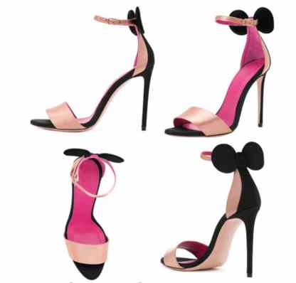 The Ferago Mini Mouse Heels 6