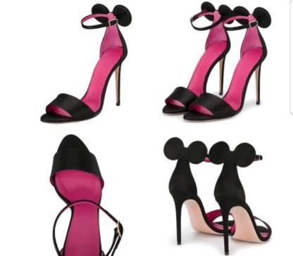 The Ferago Mini Mouse Heels 8