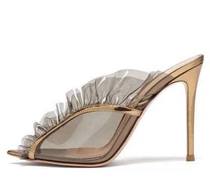 The Ferago Ruffle Sandals 1