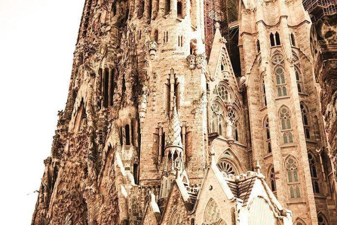 La Sagrada Familia - Fachada