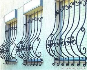 ferforje pencere demiri