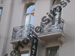 ferforje fransız balkon korkulukları