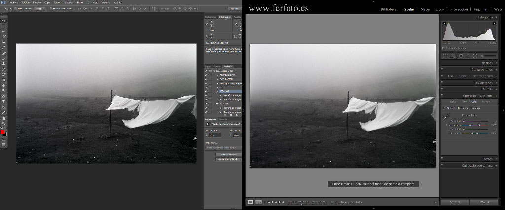 Photoshop o Lightroom