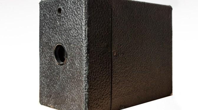 Cámara clásica. Kodak Brownie Hawk-eye No. 2